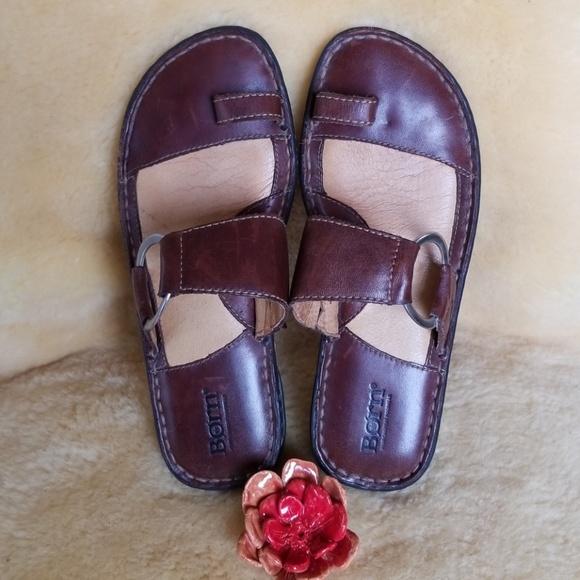 Born Toe Ring Sandals Womens 738